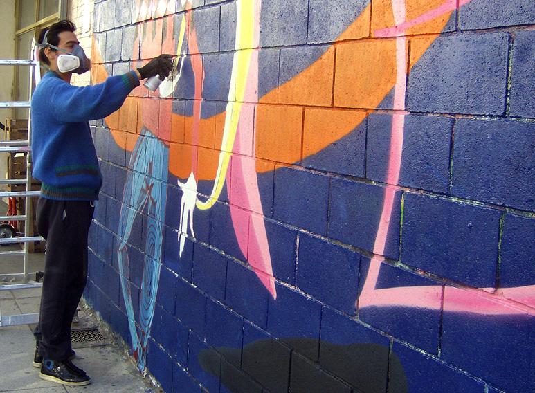 mart street art