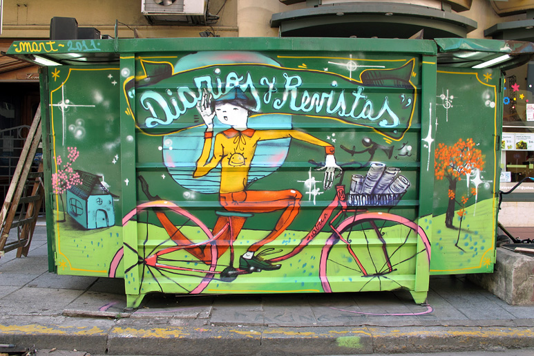 street art in buenos aires by Mart