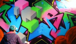 Nerf is a graffiti writer from buenos aires