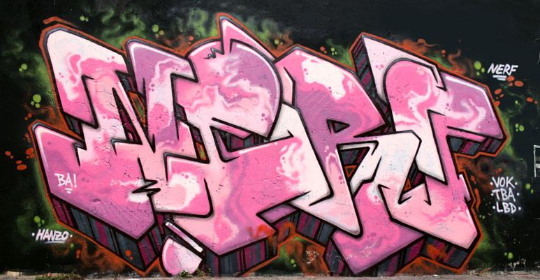 nerf buenos aires graffiti