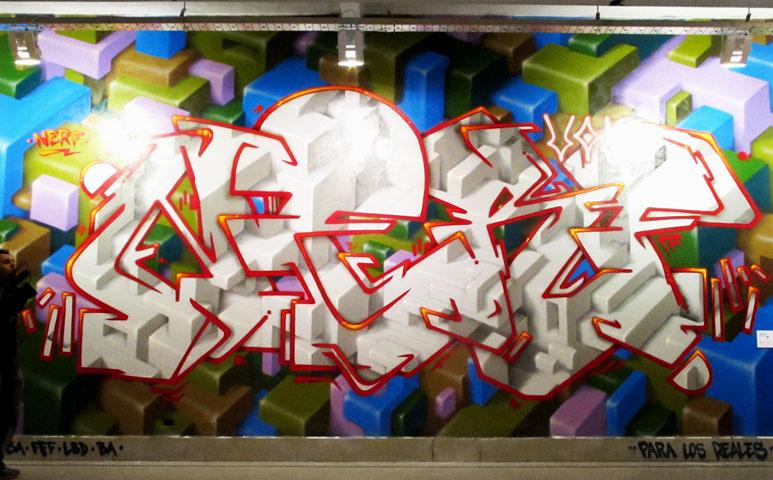 nerf  buenos aires graffiti artist