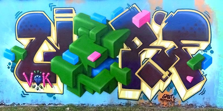 nerf buenos aires graffiti writer