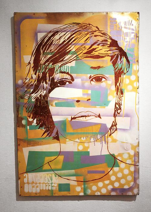 a las chapas exhibition malatesta buenos aires stencil art