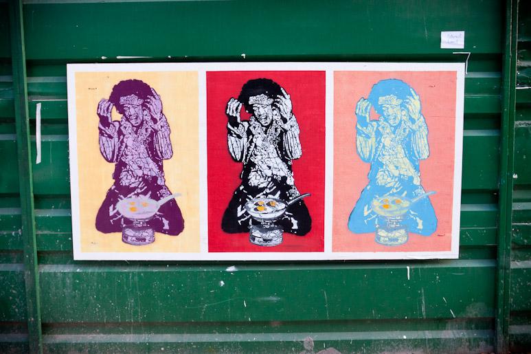 Stencil Land arte patricios