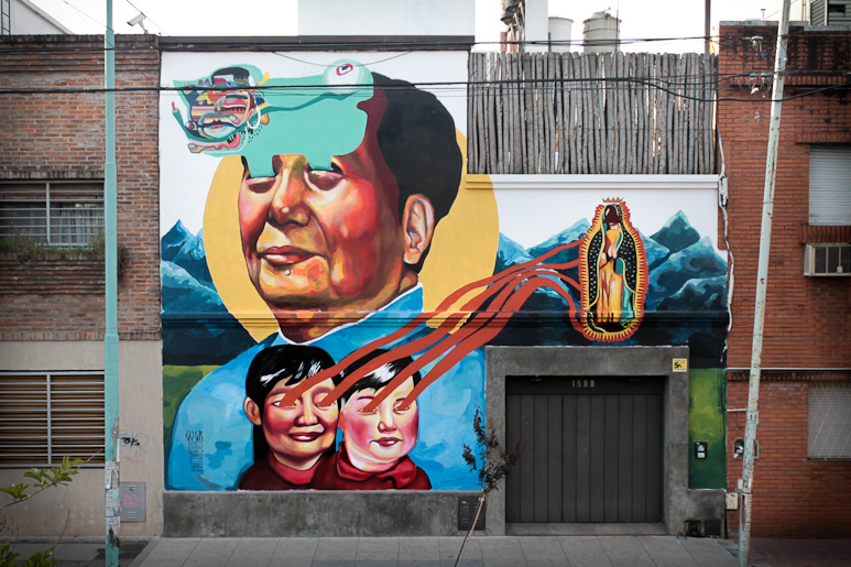 Ever's controversial mural