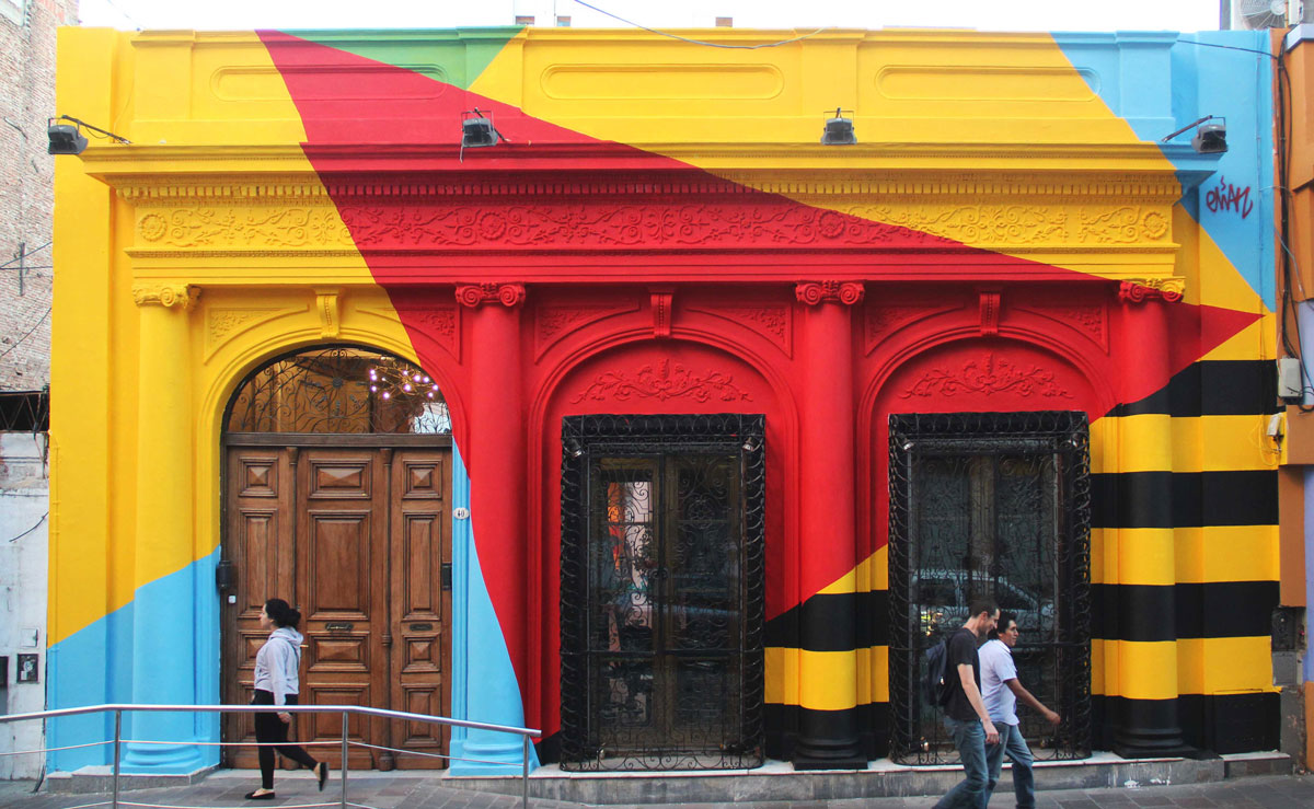 Physical graffiti the connection between urban art and architecture in argentina